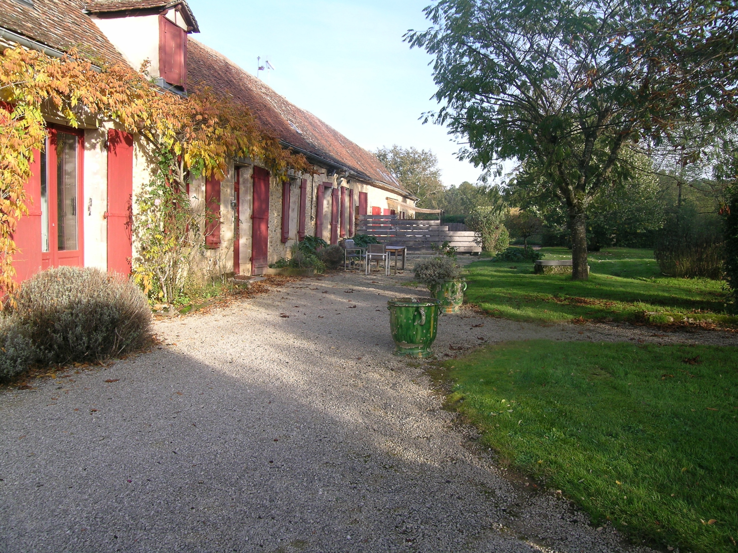 Guest house bergerac dordogne - south view