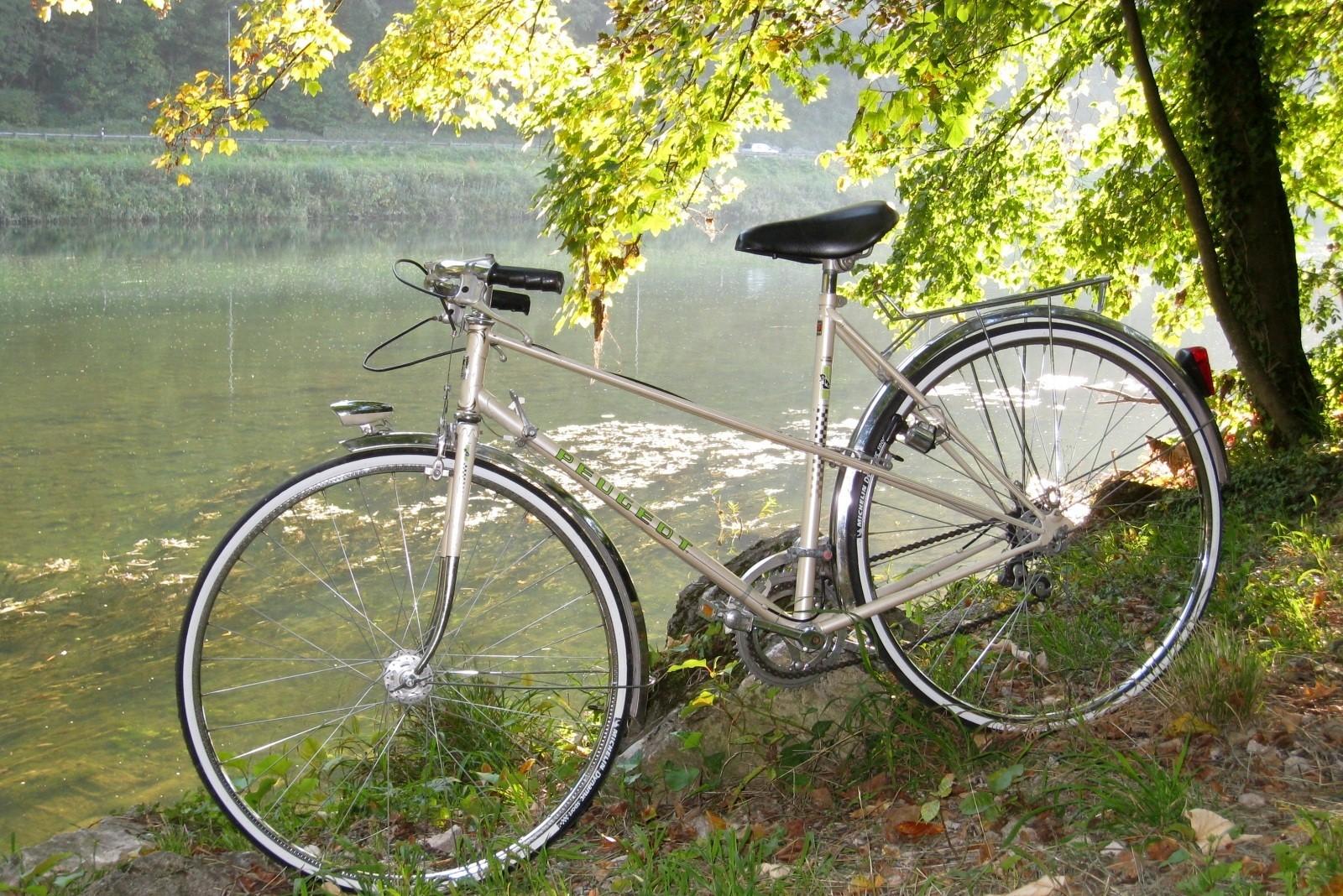 Prêt de VTT pour visiter le Pays de Bergerac. Free mountain bike to visit Bergerac